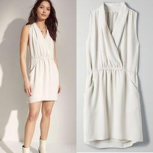 Aritzia Wilfred Sabine dress matte pearl size XXS
